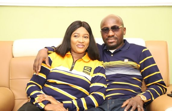 Apostle Suleman celebrates wife on 16th wedding anniversary
