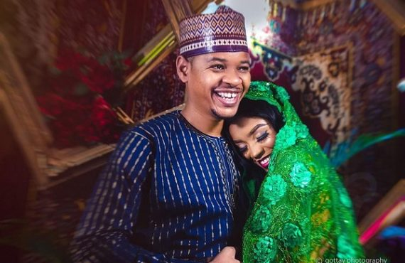 PHOTOS: MC Tagwaye, Buhari's lookalike, weds presidential aide's daughter