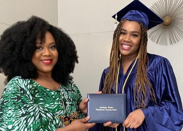 Stella Damasus' daughter bags Columbia varsity scholarship after graduation as valedictorian