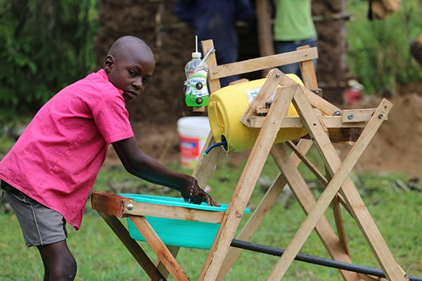 COVID-19: Kenyan boy, 9, who made hand-washing machine, gets presidential award