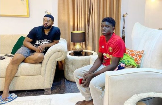 Williams Uchemba adopts 18-year-old carpentry apprentice as son