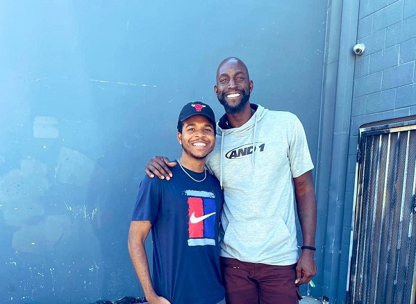Murray-Bruce's son to work as production assistant on Kevin Garnett's new documentary