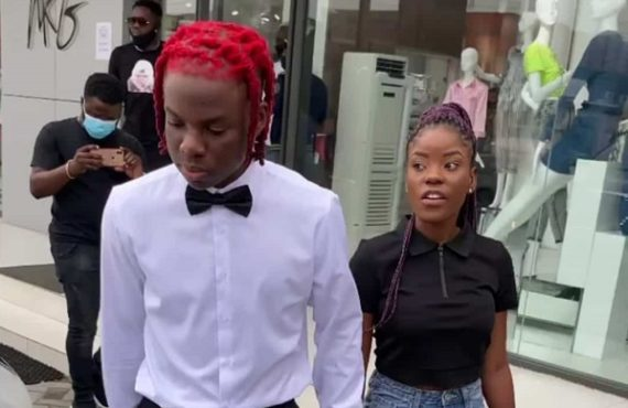 'I'm single… not his girlfriend' — Rema's date speaks on…