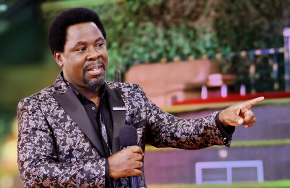 YouTube suspends TB Joshua's Emmanuel TV over 'hate speech'