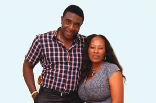 'Please stop hurting us' -- Bob-Manuel Udokwu's wife dismisses death rumours