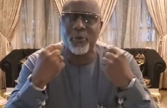 EXTRA: Dino Melaye mocks Magu amid corruption allegation