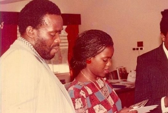 Joke Silva shares throwback picture with Olu Jacobs – days…