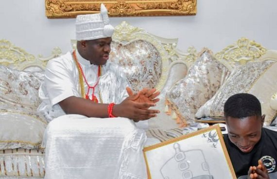 Ooni adopts, gives scholarship to son of corn seller who…