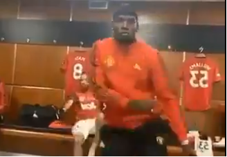 VIDEO: Pogba shows off dance moves as Ighalo plays Wizkid's…