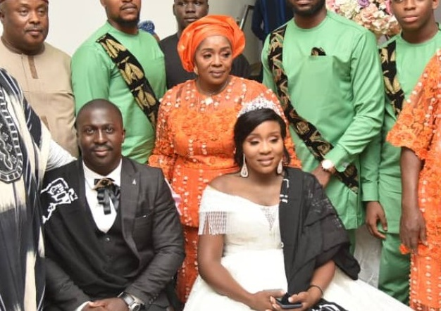 Rita Edochie gives out daughter's hand in marriage