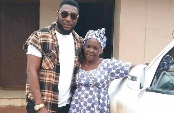 Tchidi Chikere adopts childhood nanny as mother