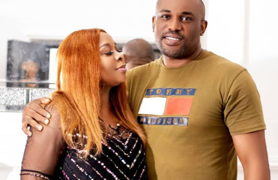 Tricia Eseigbe welcomes baby with husband 10 years after marriage