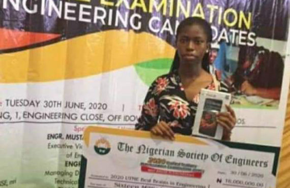 2020 UTME: 16 highest-scoring candidates bag N16m NSE prize (updated)