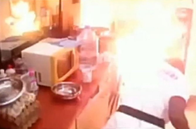 How fire started inside Big Brother Cameroon house