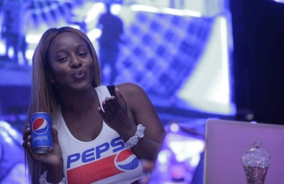Cuppy kicks against call for Pepsi to ditch her for DJ Switch