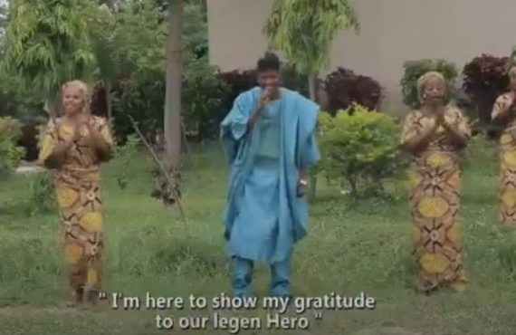 WATCH: 'He's our brave hero' — Hausa singer dedicates song…