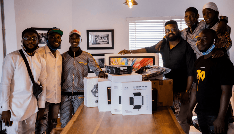 Netflix gifts film production gadgets to Ikorodu Bois