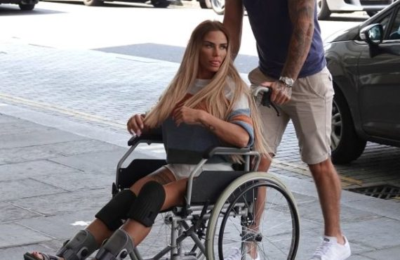 Katie Price 'banned from having sex for two weeks' after…