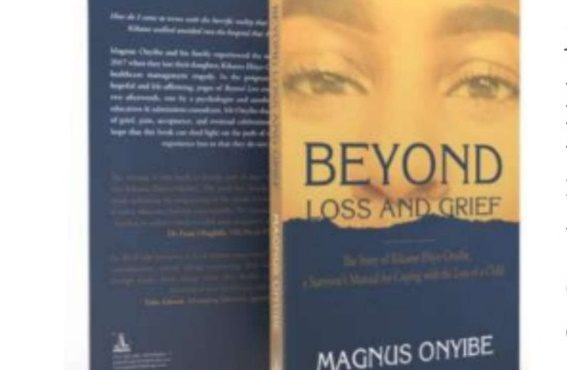 Magnus Onyibe releases book on coping with death, grief