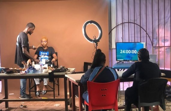 Nigeria's Eromosele Ozah chases Guinness World record for longest makeup application