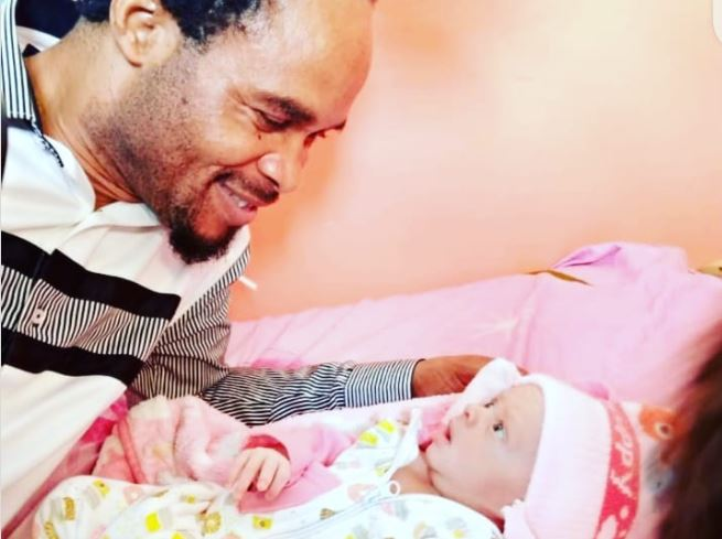 Odumeje, the 'Indaboski', welcomes fifth child with wife