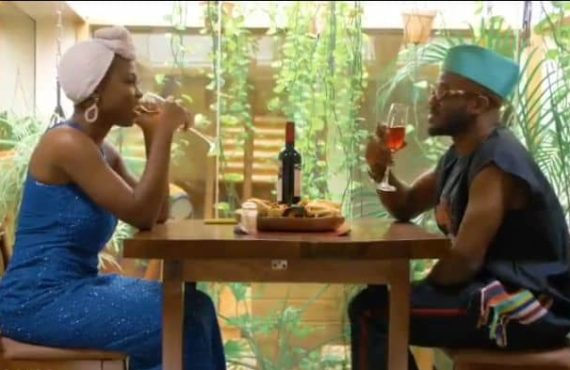 WATCH: Korede Bello's date with Taaooma turns sour in 'Table…