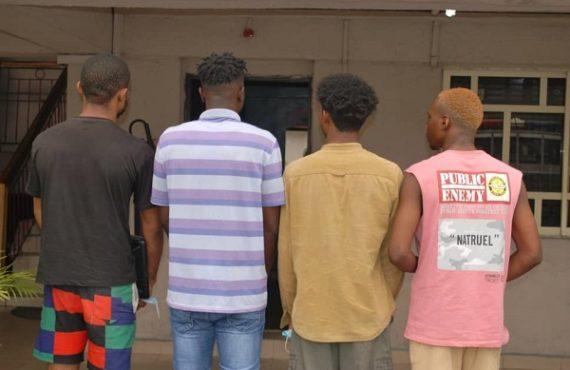 EFCC arrests four UNIPORT students over '$111,500 internet fraud'
