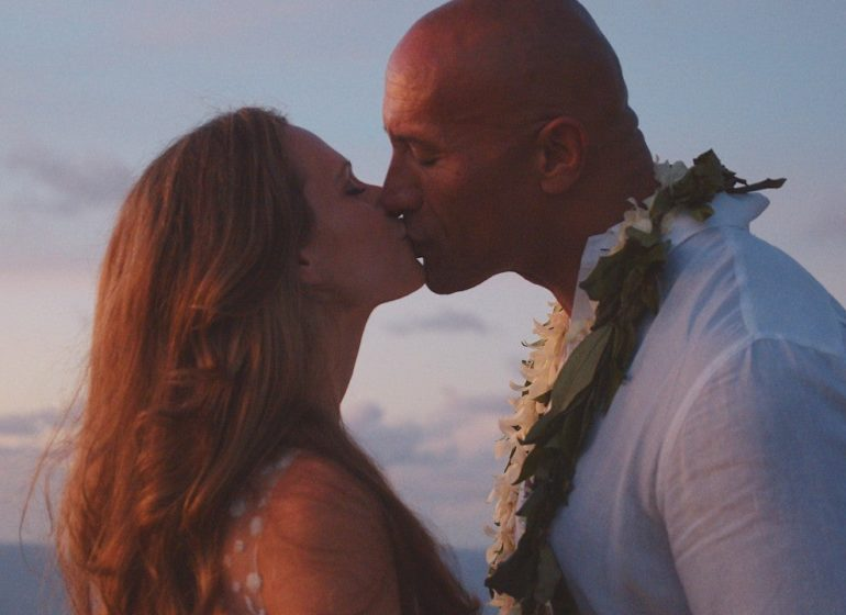 The Rock, wife celebrate first wedding anniversary