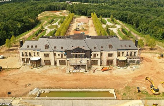 PHOTOS: Tyler Perry builds mega estate that includes airport