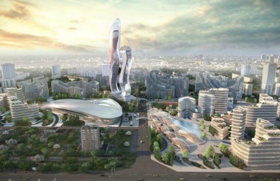 VIDEO: Akon unveils architecture for $6bn 'futuristic' city in Senegal