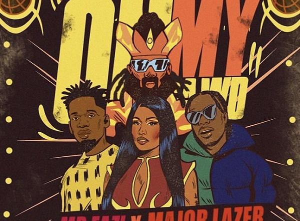 DOWNLOAD: Mr Eazi enlists Nicki Minaj, Major Lazer for 'Oh My Gawd'