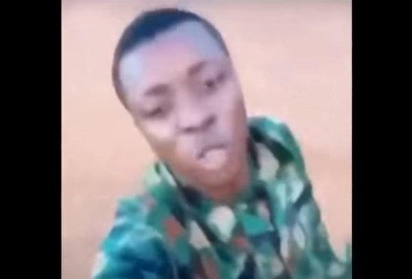 VIDEO: 'You'll be in trouble the day you kill a yahoo soldier' ― man in military uniform threatens SARS