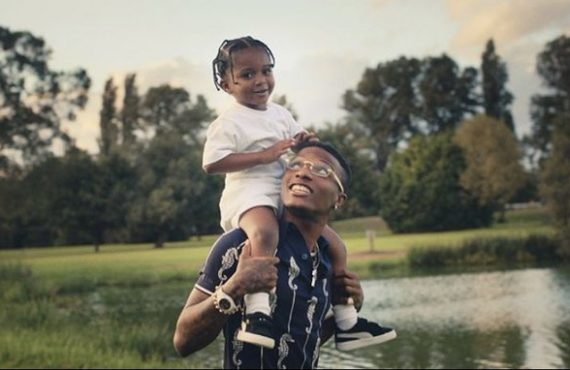 VIDEO: Wizkid shows off his three sons in 'Smile' visuals