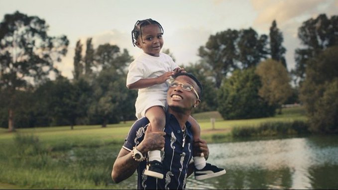 VIDEO: Wizkid's three sons feature in 'Smile' visuals