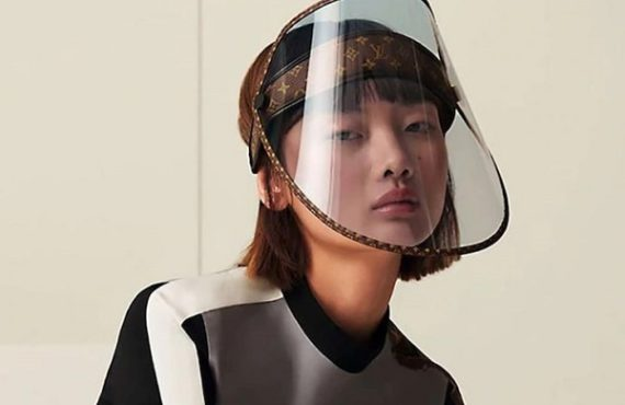 Louis Vuitton to roll out N366k gold-studded face shield
