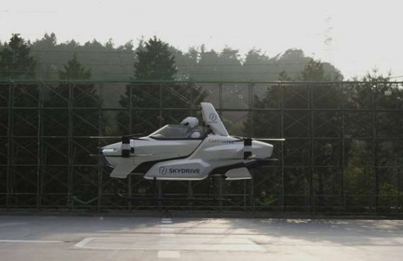 ICYMI: Flying car successfully tested in Japan