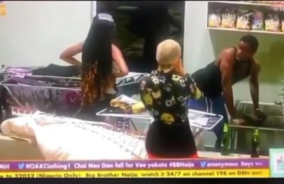 BBNaija Day 67: Nengi stunned as Neo washes Vee's panties