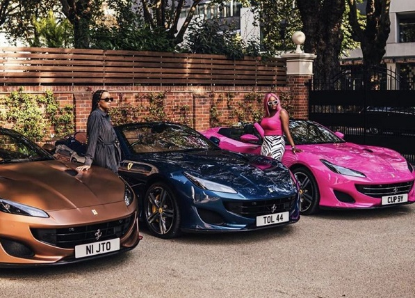 Otedola's Ferrari gift to daughters sparks frenzy