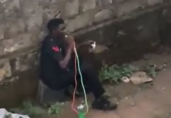 Police react to viral video of 'officer' smoking shisha