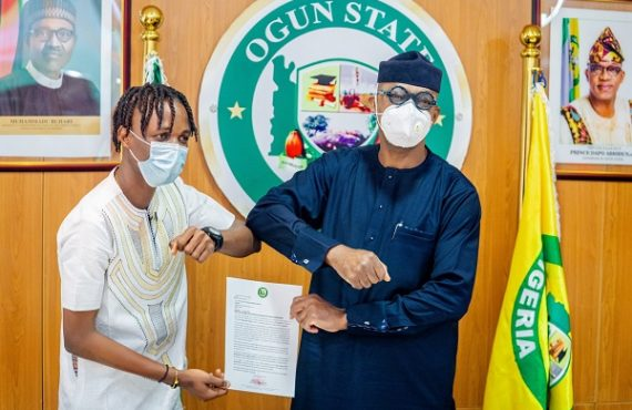 Dapo Abiodun appoints Laycon as youth ambassador