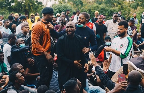 Davido: The masses are victims of police brutality… not the…