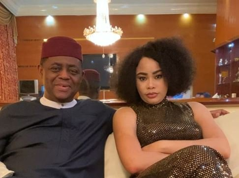 Fani-Kayode hits back at estranged wife, claims she's a danger…