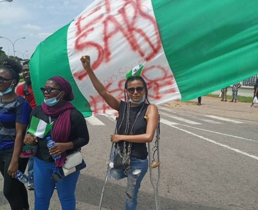N2m for groundnut seller, prosthetic legs for amputees... how #EndSARS protest helped Nigerians