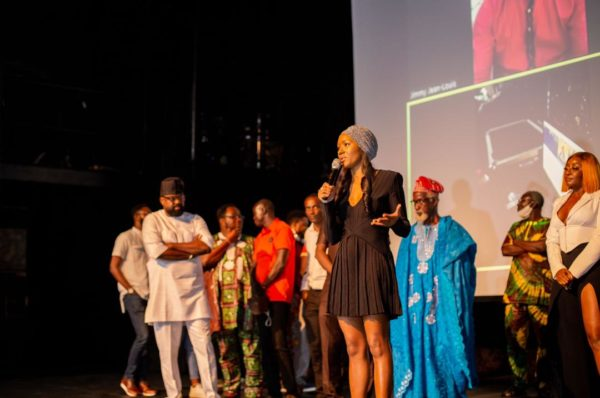 PHOTOS: Movie executives storm Lagos' Terra Kulture for 'Citation' premiere