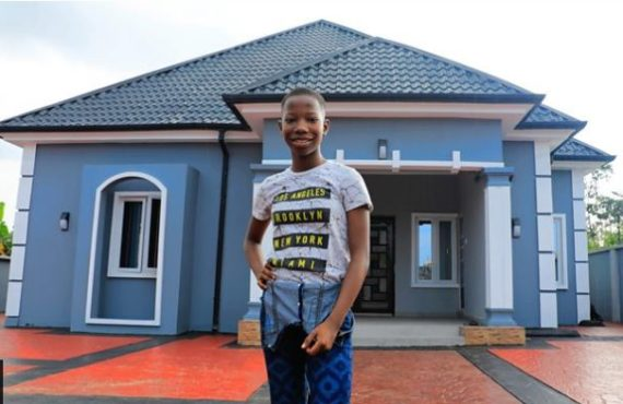 Emmanuella: How I split my earnings in four to build my mother the house