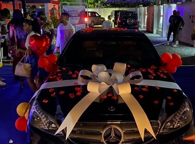 Fans gift Laycon a brand new Benz on birthday