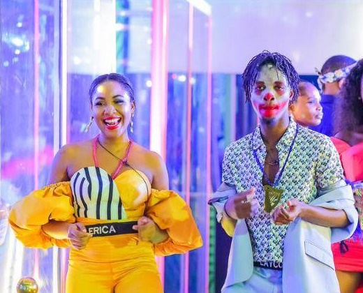 VIDEO: Drama as Erica 'snubs' Laycon at Dorathy's birthday party
