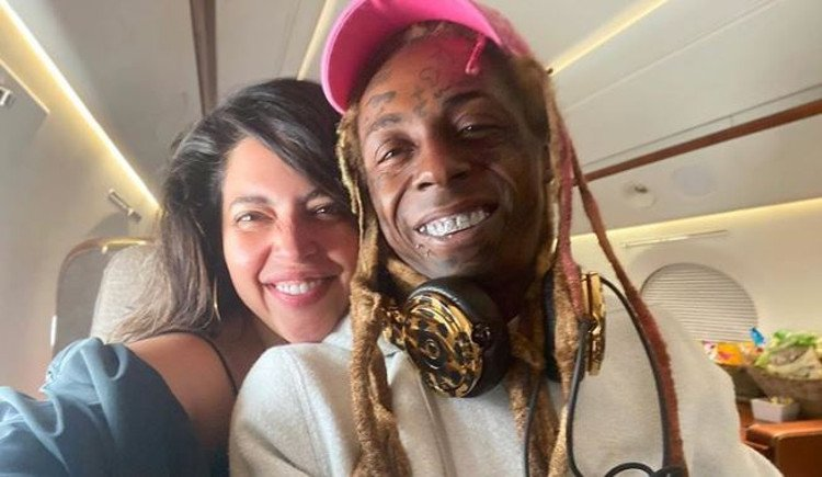Lil Wayne's girlfriend 'dumps' him for endorsing Trump