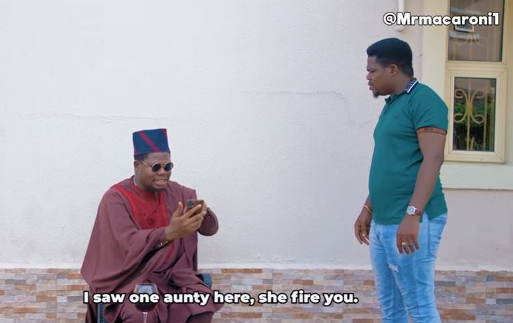 VIDEO: Mr Macaroni hits critics in 'what has govt done for you' skit