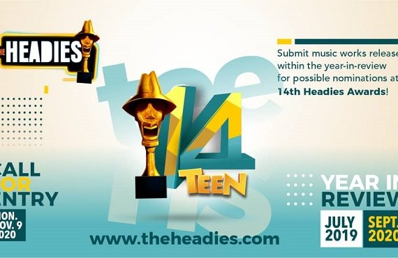 FULL LIST: Fireboy, Burna Boy, Davido lead 2020 Headies nominations